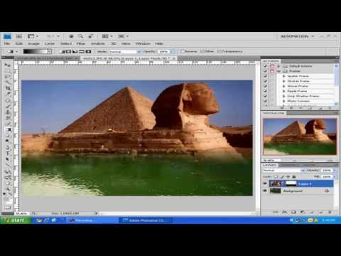 Adobe Photoshop CS4 - Mix two images to create new image