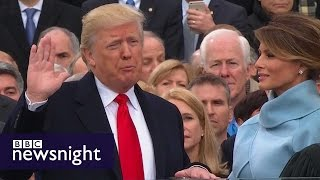 President Trump: Who thought it would ever happen? BBC Newsnight