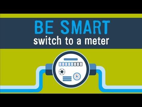 How to switch to a water meter