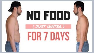 Download Guy Tries 7 DAY WATER FAST DIET💧 No Food for A Week Results Video