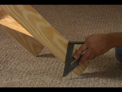 Werner Ladder - How To Customize The Length Of Your Wood Attic Ladder