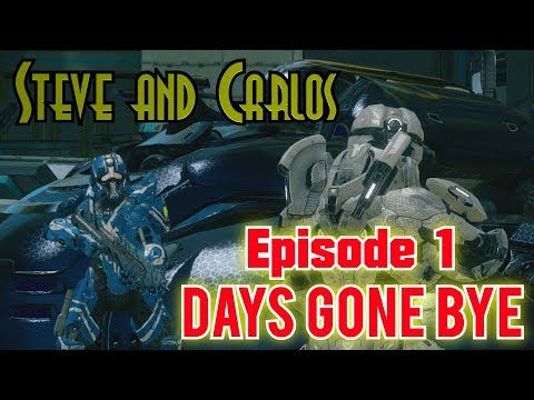 Steve and Carlos Season 2 Episode 1 'Days Gone Bye' (Halo Machinima series)