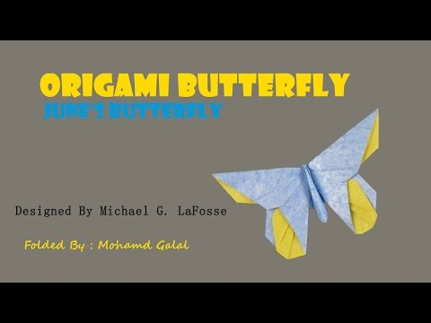 Origami Butterfly - June's by Michael G LaFosse