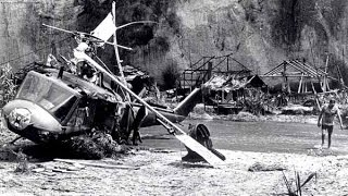 Helicopter Crash On The Set Of Twilight Zone The Movie