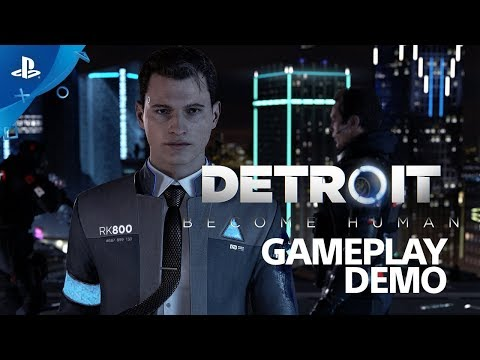 detroit become human early gameplay