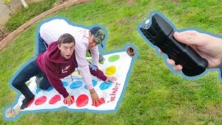 EXTREME GAME OF TASER TWISTER!