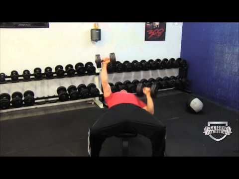 Build Chest Muscle:  3 Position Dumbbell Bench Press Exercise