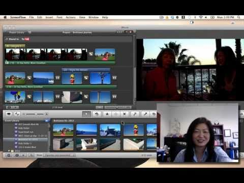 How to use ducking for imovie