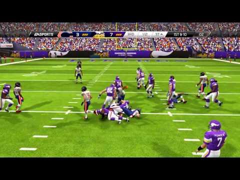 Madden 25 Gameplay - Minnesota Vikings vs. Chicago Bears!