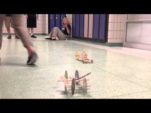 Mousetrap car for distance