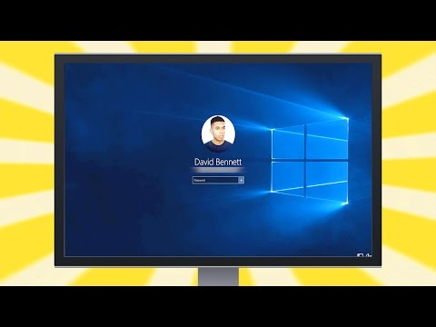 Change Windows 10 Login Background