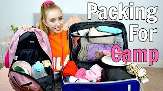 PACK WITH ME FOR CAMP! - SCHOOL CAMP 2019