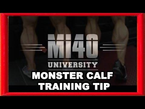 Calf Muscle, Calf Training, Ben Pakulski Calves Muscles Development