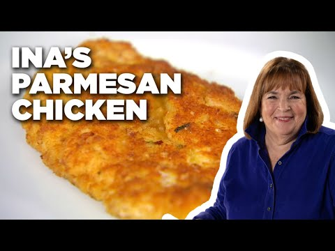 Ina's Parmesan Chicken   Food Network