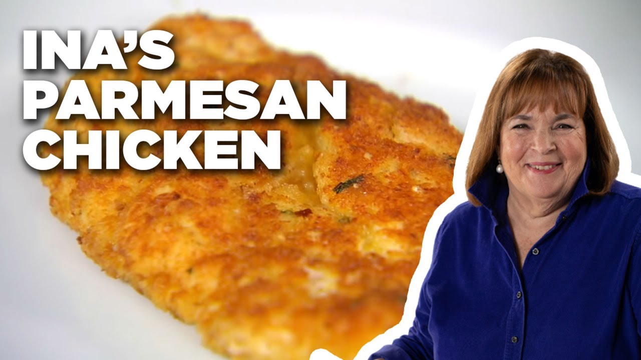 How to Make Ina's Parmesan Chicken | Barefoot Contessa | Food Network