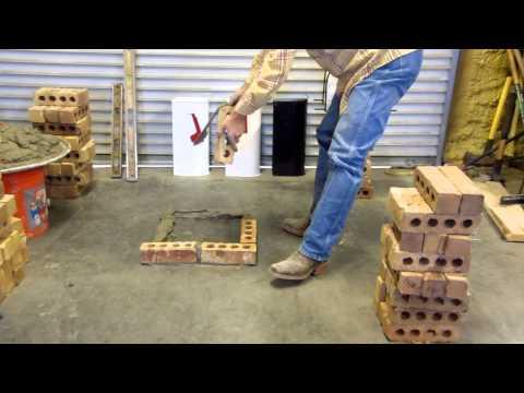 Building brick mailbox using template (Mailbox Maximizer) Part 1