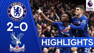 Chelsea 2-0 Crystal Palace | Dynamic Duo Abraham & Pulisic Strike Again! 🔥🔥 | Highlights