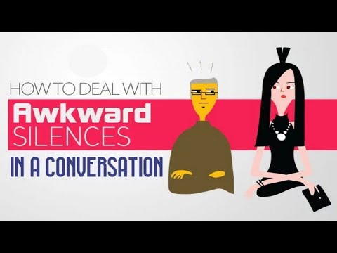 How to Deal with Awkward Silences in a Conversation