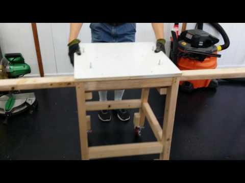 DIY Miter Saw Stand for Less than $20