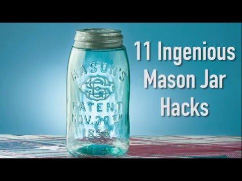 11 Ingenious Mason Jar Hacks