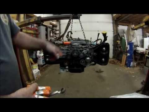 Subaru 2 5 Twin Cam Timing Belt Install