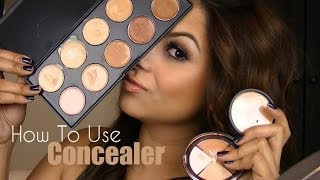 Basics How To Use A Concealer Ft Sedona Lace