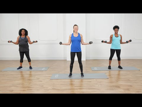 10-Minute Arm-Toning Workout With Weights