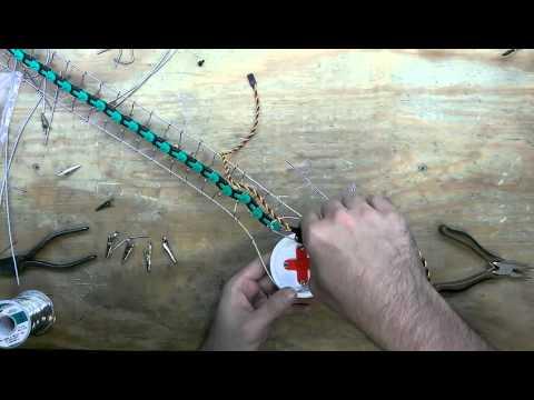Building animatronic tails, time lapse, Part2