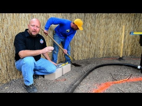 How to build a Fish Pond - Part 3 | Waterfall Construction Retaining Wall