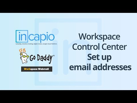 How to Create Email in the Workspace Webmail | GoDaddy | Apple Mail & Outlook Integration | 2018