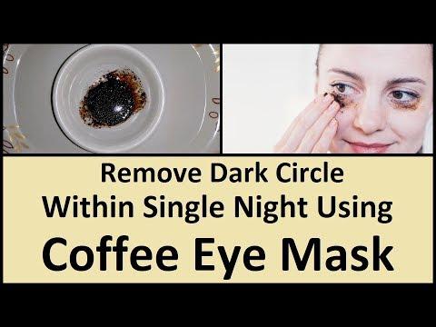 Remove Dark Circle Within Single Night Using Coffee Eye Mask