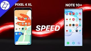 Google Pixel 4 XL vs Samsung Galaxy Note 10+ - The ULTIMATE SPEED Test!
