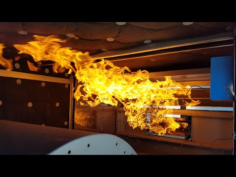 Flamethrower heating unit dangerous open flame part 2