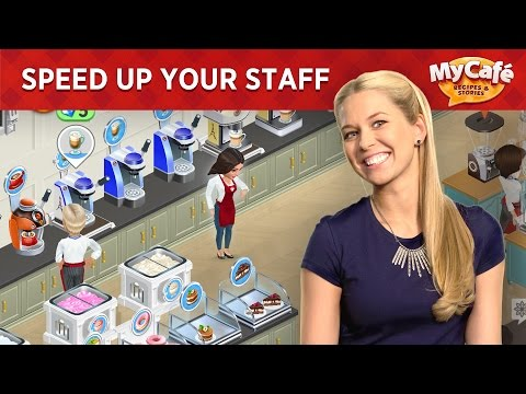 My Cafe: How to place equipment? Help your staff move faster!