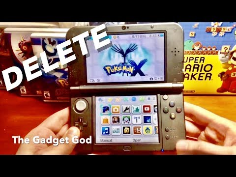 How to Delete / Restart Pokemon X, Y, Sun, Moon, Alpha Sapphire & Omega Ruby!