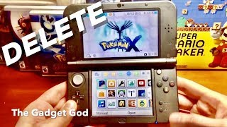How To Delete Restart Pokemon X Y Alpha Sapphire Omega Ruby Sun And M