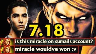 Evil Geniuses Sumail Invoker Mid Practice For Ti8 Dota 2 Update 7.18