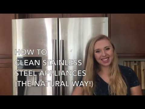 How to Clean Stainless Steel Appliances (Natural Method)