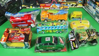 My Latest Toy Vehicles Collection - Sports Car, Tour Bus, Dump Truck, Police Car, Army Jeep and Etc