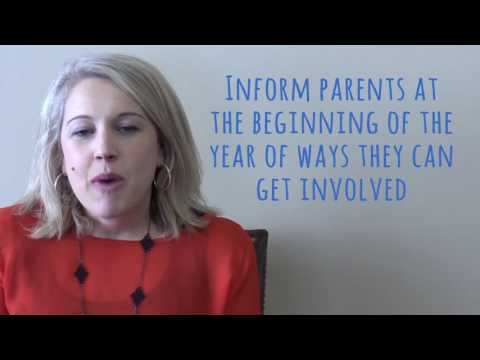 What Parents Want Schools to Know: How to Get Involved