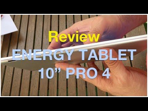 "Review ENERGY TABLET 10"" PRO 4 - Análisis en Español"