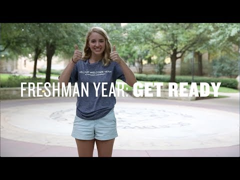 Get Ready for Your Freshman Year at St. Edward's University