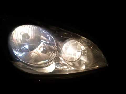 Ford Fiesta Fida Edition 2007 Model | Headlamp Bulb Performance Video | Stock OEM Bulbs