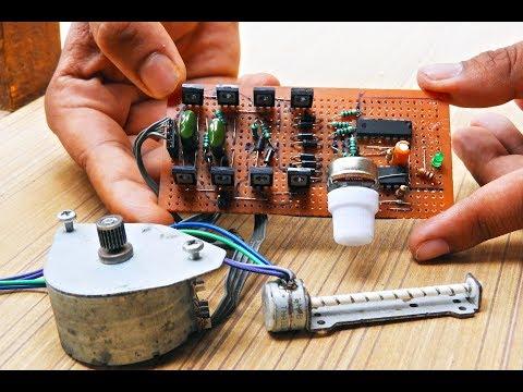 Bipolar stepper motor controller_Home Made_(Et Discover)