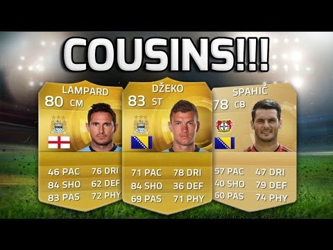 FIFA 15 - TEAM OF COUSINS!!! - Squad Of Players With Cousins On Fifa 15