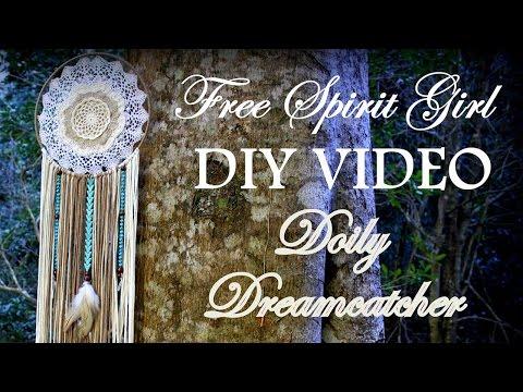 FSG DIY: Doily Dreamcatcher