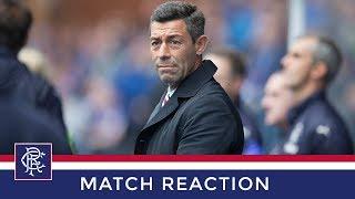 REACTION | Pedro Caixinha | Rangers 1-1 Olympique De Marseille