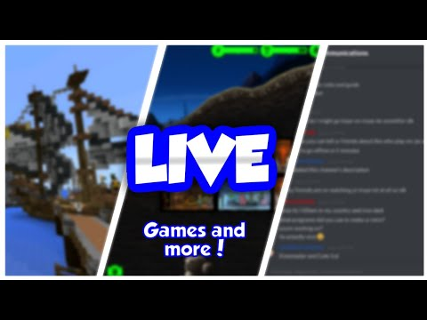 Livestream: Minigames and more! w/ DarkElectroGames