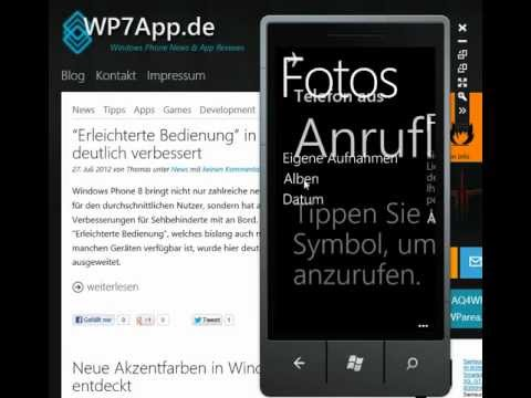 Screenshots in Windows Phone 8