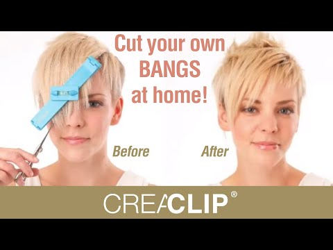 Cut your own BANGS at home!